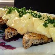 Creamed Eggs On Toast