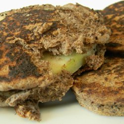 Buckwheat Apple Pan Fritters recipe