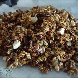 Zucchini Bread Granola