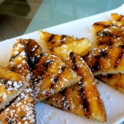 Crunchy Eggless French Toast recipe