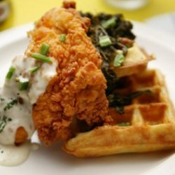 Fried Chicken And Belgian Waffles