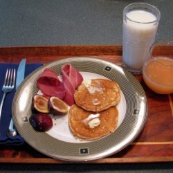 Otterpond Banana Almond Pancakes recipe