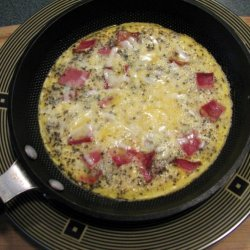 Bacon And Goat Cheese Omelet
