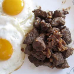 Stir-fried Marinated Breakfast Beef