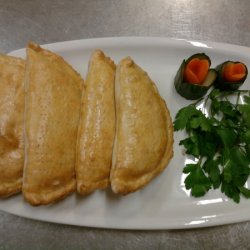 Chicken And Meat Shambourak (calzone)