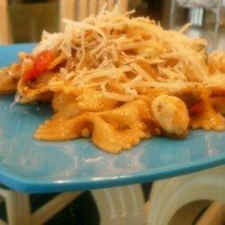 Tri-colore Pasta Salad W/ Homemade Sun-dried Tomat...