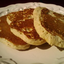 Instant Oatmeal Pancakes