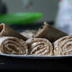 Peanut Butter Oatmeal Roll-ups