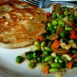 Breakfast Veggie Tostada