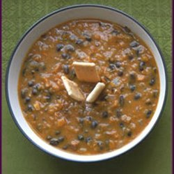 Heart Healthy Pumpkin And Black Bean Soup