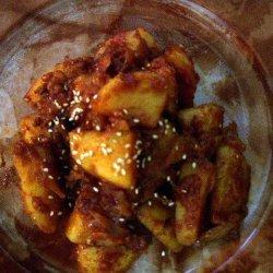 Korean Spicy Potato Side Dish Gamja Jorim