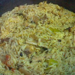 Festive Saffron Rice