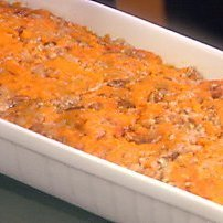 Mashed Maple Boubon Sweet Potatoes recipe