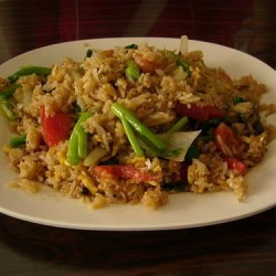 Thai Seafood And Pork  Fried Rice