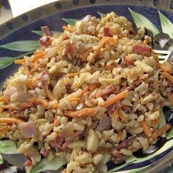 Rice A Roni Carbonara Style