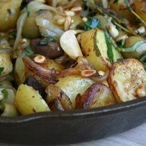 Sauteed Potatoes With Olives