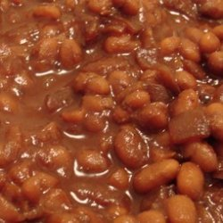 Leahs Old Fashioned Baked Beans