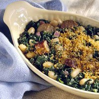 Autumn Spinach And Italian Sausage Casserole