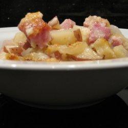 Crunchy Ham And Potato Casserole