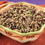 Wild Mushroom Wild Rice Pilaf