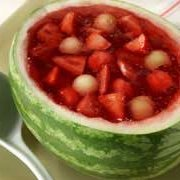 Watermelon Fruit Bowl recipe