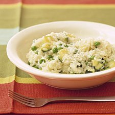 Spring Risotto With Peas N Zucchini recipe