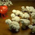 Braised Cauliflower With Anchovies Garlic And Whit...