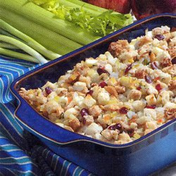 Sweet-n-savory Apple Stuffing recipe