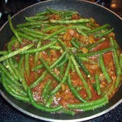 Salsa And Chilis Green Beans