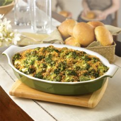Cambells Broccoli And Cheese Casserole