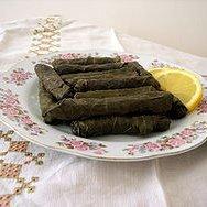 Dolmas With Lamb And Tzatziki Sauce