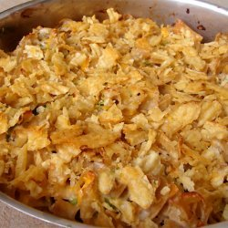 Tuna Potato Chip Casserole