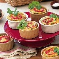 Individual Pepper N Corn Frittatas recipe