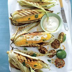 Grilled Corn On The Cob With Chile And Lime recipe