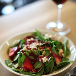 Baby Spinach and Raspberry Salad