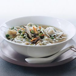 Asian Dumpling Soup recipe