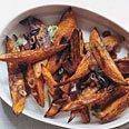 Roasted Sweet Potato Spears recipe