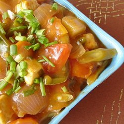 Paneer Sweet And Sour