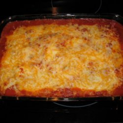 Chicken Potato Enchilada Bake recipe