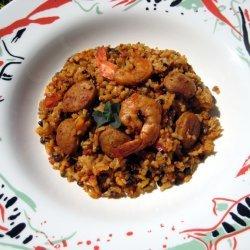 Hella Easy-hella Good Jambalaya recipe