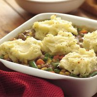 Mashed Potato And Sausage Casserolee