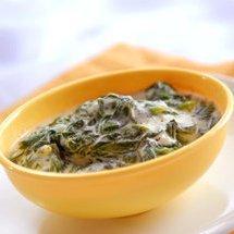 Coconut Cream Spinach