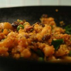 Chick Pea And Quinoa Saute