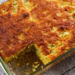 Green Chili Cheese Corn Bread
