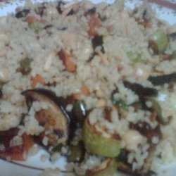 Roast Vegetable And Chickpea Couscous