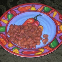 Southwestern Ranch Beans recipe
