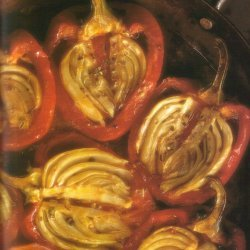 Roasted Red Peppers Stuffed With Fennel