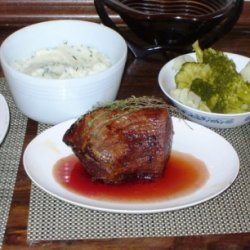 Rotisserie Beef Tip With Mashed Potatoes Wfresh Or...
