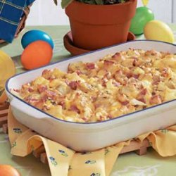 Ham N Potato Casserole