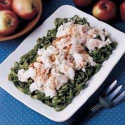 Spinach Pasta Chicken Casserole